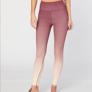 Threads 4 Thought Betty Hi Waisted Ombré leggings